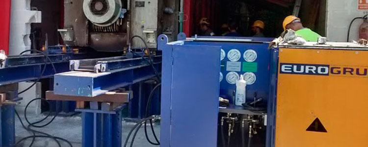 Movimientos de maquinaria en Industria Jaén